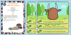 Playdough Recipe And Mat Pack to Support Teaching on The Gruffalo