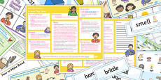 My Senses KS1 Lesson Plan Ideas and Resource Pack