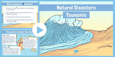 Natural Disasters Tsunamis Information PowerPoint