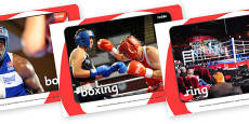 The Olympics Boxing Display Photos