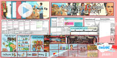 PlanIt - Art UKS2 - South and Central American Art Unit Pack