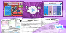 PlanIt - Science Year 5 - Properties and Changes of Materials Lesson 5: Separating Mixtures Lesson Pack