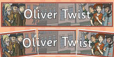 Oliver Twist Display Banner