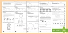 * NEW * KS1 Practice Reasoning 4 - 6 Test Resource Pack