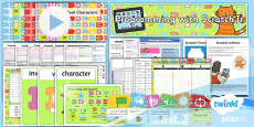 PlanIt - Computing Year 1 - Programming with ScratchJr Unit Pack