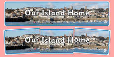 Guernsey Our Island Home Display Banner