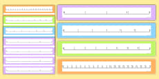 Fractions Number Lines to 2