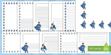 KS1 Anti Bullying Week Power for Good Page Border Pack