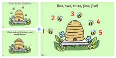 Here is the Beehive Nursery Rhyme PowerPoint
