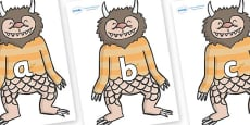 Phase 2 Phonemes on Wild Thing (1) to Support Teaching on Where the Wild Things Are