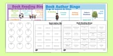 Book Reading Bingo Spanish Translation