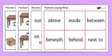 Positional Language Bingo