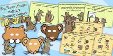 The Town Mouse And The Country Mouse Sack Resource Pack