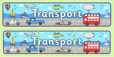 Transport Display Banner