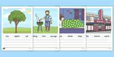 Simple Sentence Activity Sheets