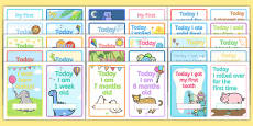 Baby Milestone Photo Prop Cards