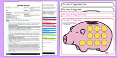 Three Little Pigs Letter 'P' Phonics Activity EYFS Adult Input Plan and Resource Pack
