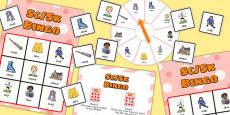 SC, SK Spinner Bingo