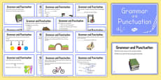 Year 2 Grammar and Punctuation Challenge Cards