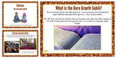 Guru Granth Sahib Teaching and Task Setting PowerPoint