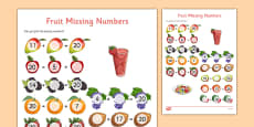Missing Number Addition to 20 Activity Sheet