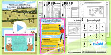 PlanIt Y2 SpaG Lesson Pack: Writing and Identifying Statements and Exclamations