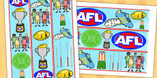 Australian Football League Display Border