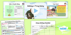 PlanIt Y3 Plants: Jack and the Beanstalk Lesson Pack Personal Writing (3)
