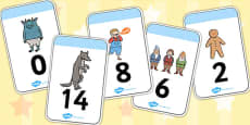 Fairytale Number Cards 0-30