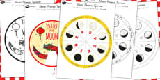Australia - Chinese New Year Themed Phases of the Moon Visual Aid