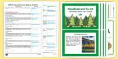 EYFS Woodland and Forests Discovery Sack Plan and Resource Pack