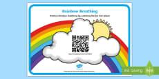 * NEW * Mindfulness Rainbow Breathing Code Hunter
