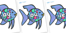 Phase 5 Phonemes on Rainbow Fish to Support Teaching on The Rainbow Fish