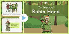The Legend of Robin Hood PowerPoint