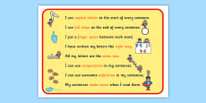 How To Make A Super Sentence Checklist