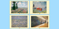 Claude Monet Photo Pack
