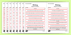 CfE Child Friendly Tracking First Level Writing