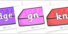 Silent Letters on Soap (Multicolour)