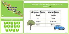 Making Singular Nouns Plural PowerPoint