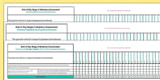KS2 Exemplification Overview for Whole Class Spreadsheet