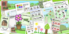 Parks and Gardens EYFS Lesson Plan, Enhancement Ideas and Resource Teaching Pack