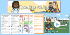 * NEW * Reading Aloud Resource Pack