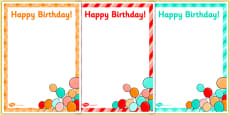 4th Birthday Party Editable Poster