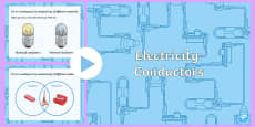 Year 4 Electricity Conductivity Teaching PowerPoint