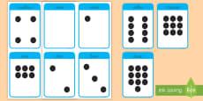 Tarjetas educativas: Los números - 0-10