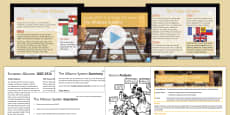 Causes of the First World War Lesson 2: The Alliance System Resource Pack