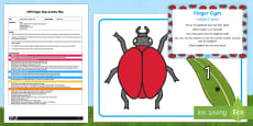 * NEW * EYFS Ladybird Spots Finger Gym Plan and Resource Pack