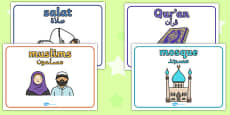 Eid Group Signs Arabic Translation
