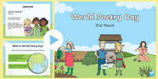 CfE First Level World Poetry Day PowerPoint