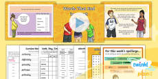 PlanIt Y5 Term 1B W5: Adverbs of Possibility and Frequency Spelling Pack